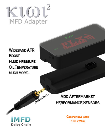 PLX iMFD Adapter for iPod, iPad, and iPhone